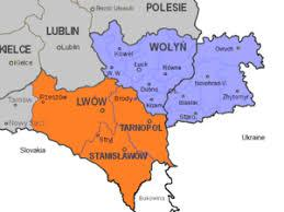 Volhynia - map